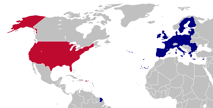 map of us to europe Transatlantic Trade: What the Latest Leak Means for Science Based
